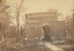 North entrance gateway to the Fort, Bishnupur